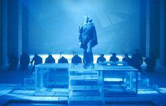 1990/91 Faust, frammenti parte seconda di Johann Wolfgang Goethe, regia di Giorgio Strehler, foto di Luigi Ciminaghi