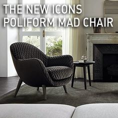 The new icons, Poliform Mad Chair