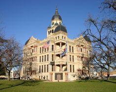 Denton County Courthouse, Denton, Texas www.discoverdenton.com www.texaslakestrail.com