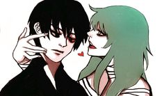 Blood Kaneki and Eto ||| Tokyo Ghoul: Re Fan Art by pingygy on Tumblr