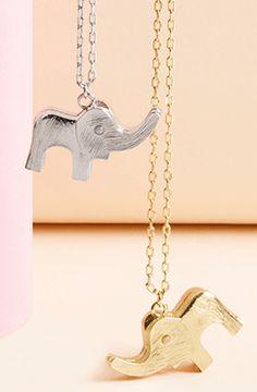 TRUE by Tuleste™ Elephant Pendant | DRESSBAR