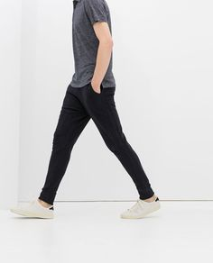 Image 2 of COTTON TROUSERS from Zara
