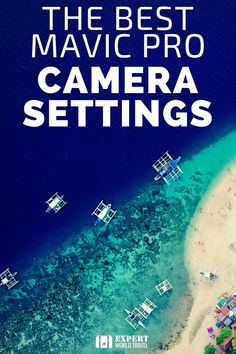 Learn how to set the camera settings on your DJI Mavic Pro to get the best results. From the ISO setting, Shutter speed and frame rate, to using filters to get the best shot. Don't waste another opportunity with your Mavic Pro. Pro Camera, Camera Shots, Camera Hacks, Best Camera, Camera Gear, Photography Settings, Dslr Photography Tips, Travel Photography, Aerial Photography