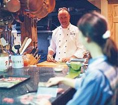 Cooking classes at Camden Bed and Breakfast Inn in Maine, the Hartstone Inn