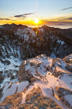 Velebit Mountain, Croatia. Velebit is the largest though not the highest mountain range in Croatia. Its highest peak is the Vaganski at 1757 m. The range forms a part of the Dinaric Alps and is located along the Adriatic coast.