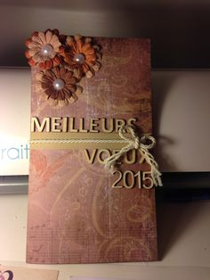 Carte porte chèque  Made by Lyly