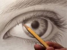 How to Draw Realistic Eyes (Photorealistic) Mark Crilley on You Tube has collections of How to Draw videos that are helpful and inspiring!