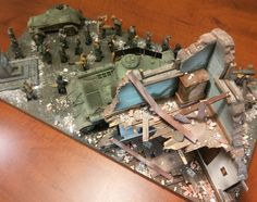 """(NEO)AMPS...Northeast Ohio Armor Modeling and Preservation Society: """"For the Fatherland"""" Diorama by Chan Jackson"""