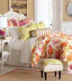 Luxury Bedding by Eastern Accents - Caroline Collection