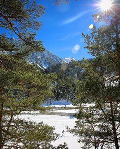 Sublimes paysages du côté du #PontdEspagne @Cauterets ! Avec un peu de #ski de fond pour changer #NPy #Pyrenees #Cauterets #winter #sun #NPy1 by npyski