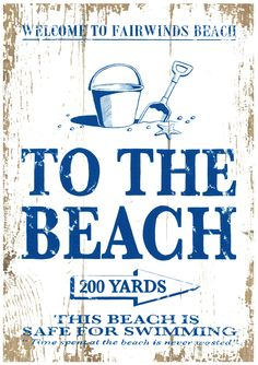 Coming soon...these fantastic 'By the Sea' Signs by Martin Wiscombe