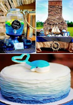 Nautical themed birthday party for Pottery Barn by Capes & Crowns