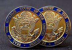 US Supreme Court Cufflinks