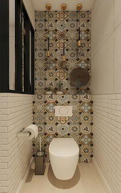 Small Bathroom Interior, Bathroom Design Luxury, Modern Bathroom Decor, Bathroom Design Small, Home Interior Design, Bathroom Ideas, Modern Bathrooms, Small Toilet Room, Beautiful Bathrooms