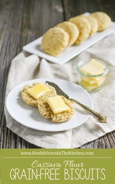 Cassava Flour Biscuits {Grain & Gluten-Free, Nut-Free, Dairy Free, Paleo}