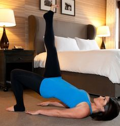 No gym necessary! How To Workout While You Are Traveling #hotels #travel #fitness