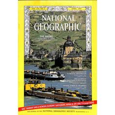 Buy National Geographic Magazine, April G+ or better condition considering its age, has some insignificant imperfections. National Geographic Magazine, April 1967 - My photo shows the ACTUAL item on sale. National Geographic Cover, Europe News, Vintage Magazines, Athens, Sailing, Tower, Magazine Covers, Unique, Gift