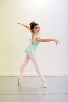 Laura Morton dances the part of Tinkerbell in the Appalachian Ballet production of Peter Pan.