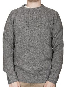Carhartt Anglistic Sweater - Grey Heather £74.95