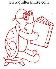 Riscos de tartarugas - Desenhos e Riscos