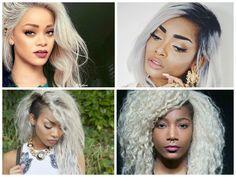 Inspiração: Negras E Morenas de cabelo cinza/branco? Claro que sim ué | Urbana Club.com