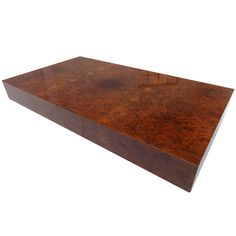 Burlwood coffeetable