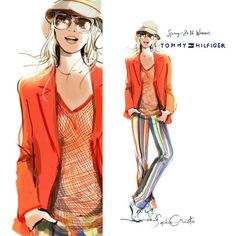 Fashion illustrations - Sophie Griotto Illustration