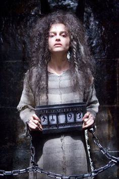Bellatrx Lestrange (Helena Bonham Carter) in Harry Potter and the Order of the Phoenix (2007)