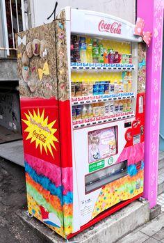 KyaryPamyuPamyu vending machine, Tokyo, Japan