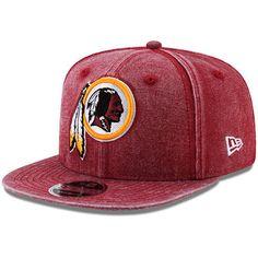 Men s New Era Burgundy Washington Redskins Rugged Canvas Snap 2 9FIFTY  Snapback Adjustable Hat Washington Redskins 590dd88aa