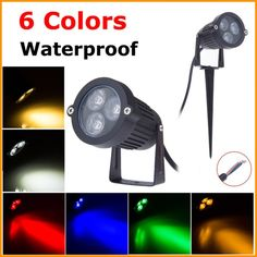 220V 110V LED Lawn Lamp Light Waterproof 9W Outdoor Garden Lighting Green Yellow Red Blue White 3W 9-  Item Type: Lawn Lamps  Style: Contemporary  Model Number: OL-LW001-9W  Certification: CE,SAA,RoHS,EMC,LVD  Protection Level: IP65  Features: Spot Lights  Body Material: Aluminum  Power Source: AC  Usage: Holiday  Base Type: FESTOON  Light Source: LED Bulbs  Is Bulbs Included: Yes  Is Dimmable: No  Voltage: 85-265V  Warranty: 2  Brand Name: ALMGD  LED Power: 3*3W EPISTAR LED  Bulb Light…