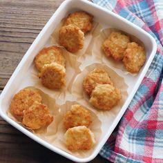 【作り置き冷凍】冷めてもおいしい。ふわっとマヨチキンナゲット - macaroni Bento Recipes, Healthy Crockpot Recipes, Tasty Videos, Food Videos, Easy Cooking, Cooking Recipes, Mets, Asian Recipes, Love Food