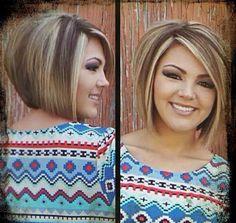 #bobcut #haircut #highlights #lowlights