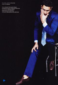 Tom Ford Suit, Loafers by Santoni