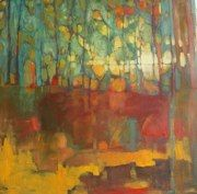 Olivia Pendergast, artist  THrough Forest