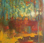 Olivia Pendergast, artist  THrough Forest