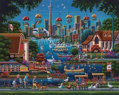 Toronto Island - by Eric Dowdle
