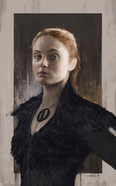 Sansa Stark by Luis Silva