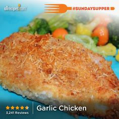 "Garlic Chicken | ""My family wanted this again only two nights after I made it,"" says Amy. Try it for your #SundaySupper."