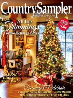 8 best Country Sampler Magazine images on Pinterest | Country ... Bedroom Christmas Decorating Html on christmas bedroom sets, christmas bedroom lighting, christmas bedroom fun, christmas design, christmas bedroom curtains, christmas layout of a bedroom, christmas outdoor decorations, christmas bedroom diy, christmas lights in bedroom, christmas beds, christmas bedroom accessories, christmas bedroom baby, christmas bedroom decor teen, christmas master bedrooms,