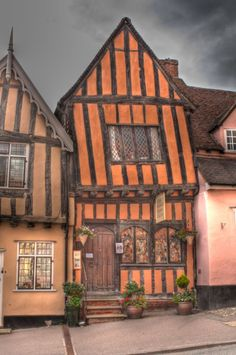 The Crooked House, Lavenham, Suffolk. Reminds me of the Burrow from Harry Potter.