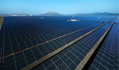 鹿児島七ツ島メガソーラー発電所 | 設置導入事例 | 公共・産業用太陽光発電システム | 京セラ