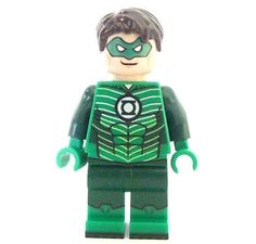 Lego custom GREEN LANTERN : from the Justice League Get Supermans Batmans pal !