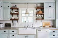 1920s english kitchen - Google Search 1920s Kitchen, Tudor Kitchen, Colonial Kitchen, Craftsman Kitchen, Farmhouse Style Kitchen, New Kitchen, Craftsman Remodel, Kitchen Ideas, Craftsman Cottage