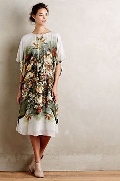 garden glam, yo. Sweetmeadow Midi Dress #anthropologie
