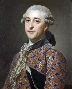 Alexander Roslin - Portrait of Prince Vladimir Golitsyn Borisovt