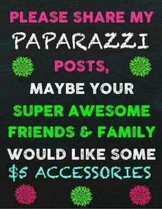 Come see what the Paparazzi party is all about.