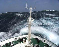 Merchant Navy, Merchant Marine, Jet Ski, Sea State, Rogue Wave, Storm Photography, Wild Waters, Big Sea, Rough Seas