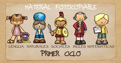 TODAS LAS ÁREAS Material fotocopiable santillana PRIMER CICLO PRIMARIA