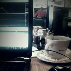 Trading... 3rd cup of coffee